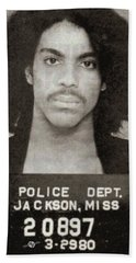 Prince Mug Shot Vertical Beach Sheet