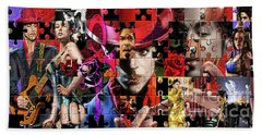 Prince Puzzle Of Missing Pieces 1 Beach Towel