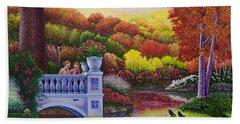 Princess Gardens Beach Towel