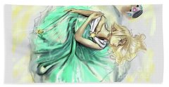 Princess Rosalina Beach Towel