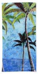 Princeville Palms  Beach Towel