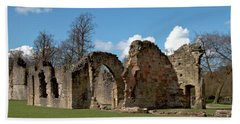 Priory Ruins Beach Sheet