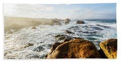 Pristine Tasmanian Coast Beach Towel