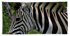 Profile Zebra Beach Towel