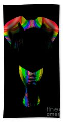 Projected Body Paint 2094999b Beach Towel