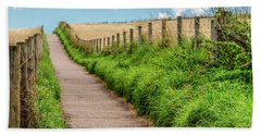 Promenade In Stonehaven Beach Towel