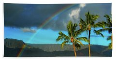 Beach Towel featuring the photograph Promise Of Hope by Lynn Bauer