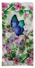 Promise Of Spring Beach Sheet by Maria Urso