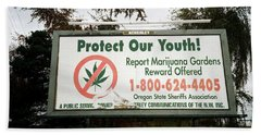 Protect Our Youth Beach Towel
