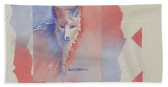 Proud Fox Beach Towel