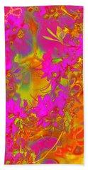 Psychedelic Spring Azaleas Beach Sheet