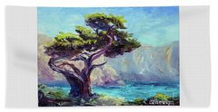 Pt. Lobos Beauty Beach Towel