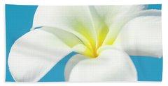 Beach Towel featuring the photograph Pua Melia Pakahikahi by Sharon Mau