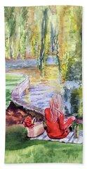 Public Garden Picnic Beach Towel