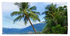 Phuket Patong Beach Beach Towel by Mark Ashkenazi