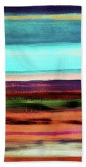 Pueblo 2- Art By Linda Woods Beach Towel
