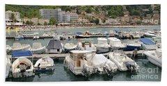 Puerto De Soller In Majorca Beach Sheet