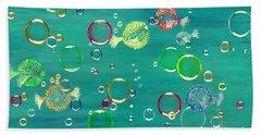 Pufferfish Rainbow Beach Sheet
