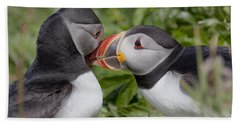 Puffin Love Beach Sheet