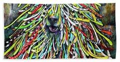 Hungarian Sheepdog Beach Sheet