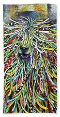 Hungarian Sheepdog Beach Towel