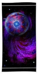Pulsar At The Edge Of Space Beach Towel