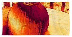 Pumpkin #3 Beach Sheet