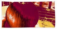 Pumpkin #5 Beach Sheet