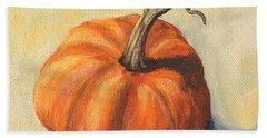 Pumpkin Everything Beach Towel