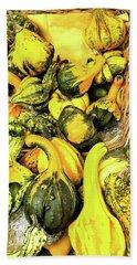 Pumpkin Family Beach Sheet