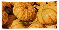 Pumpkin Harvest Beach Towel