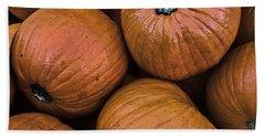 Pumpkin Patch Beach Towel