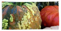 Pumpkin Pleasers Beach Towel by Patricia E Sundik