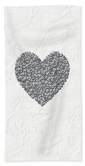 Beach Towel featuring the digital art Pure Love by Linda Prewer