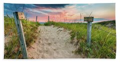 Beach Towel featuring the photograph Pure Michigan Sunset by Sebastian Musial