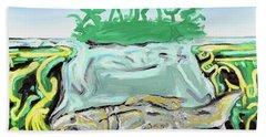 Purgatorium Praedator Beach Towel by Ryan Demaree