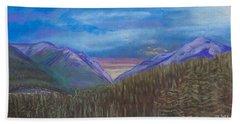 Purple Alaska Beach Sheet