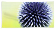 Purple Allium 4 Beach Sheet