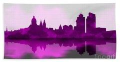 Purple Amsterdam Beach Towel