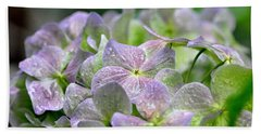 Purple Beauty Beach Towel by Tanya Searcy