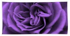 Purple Bliss Beach Sheet
