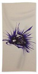 Purple Burst Beach Towel