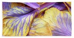 Purple Cabbage Beach Sheet