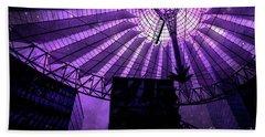 Purple Cosmic Berlin Beach Sheet