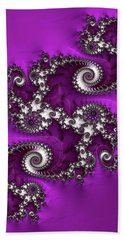 Purple Dragon Beach Towel