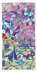 Purple Beach Towel
