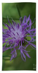 Purple Flower 8 Beach Towel