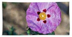 Purple Rockrose Beach Sheet
