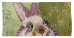 Purple Hare Beach Sheet