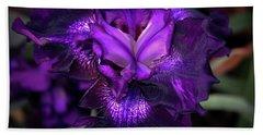 Purple Iris 5994 H_2 Beach Sheet
